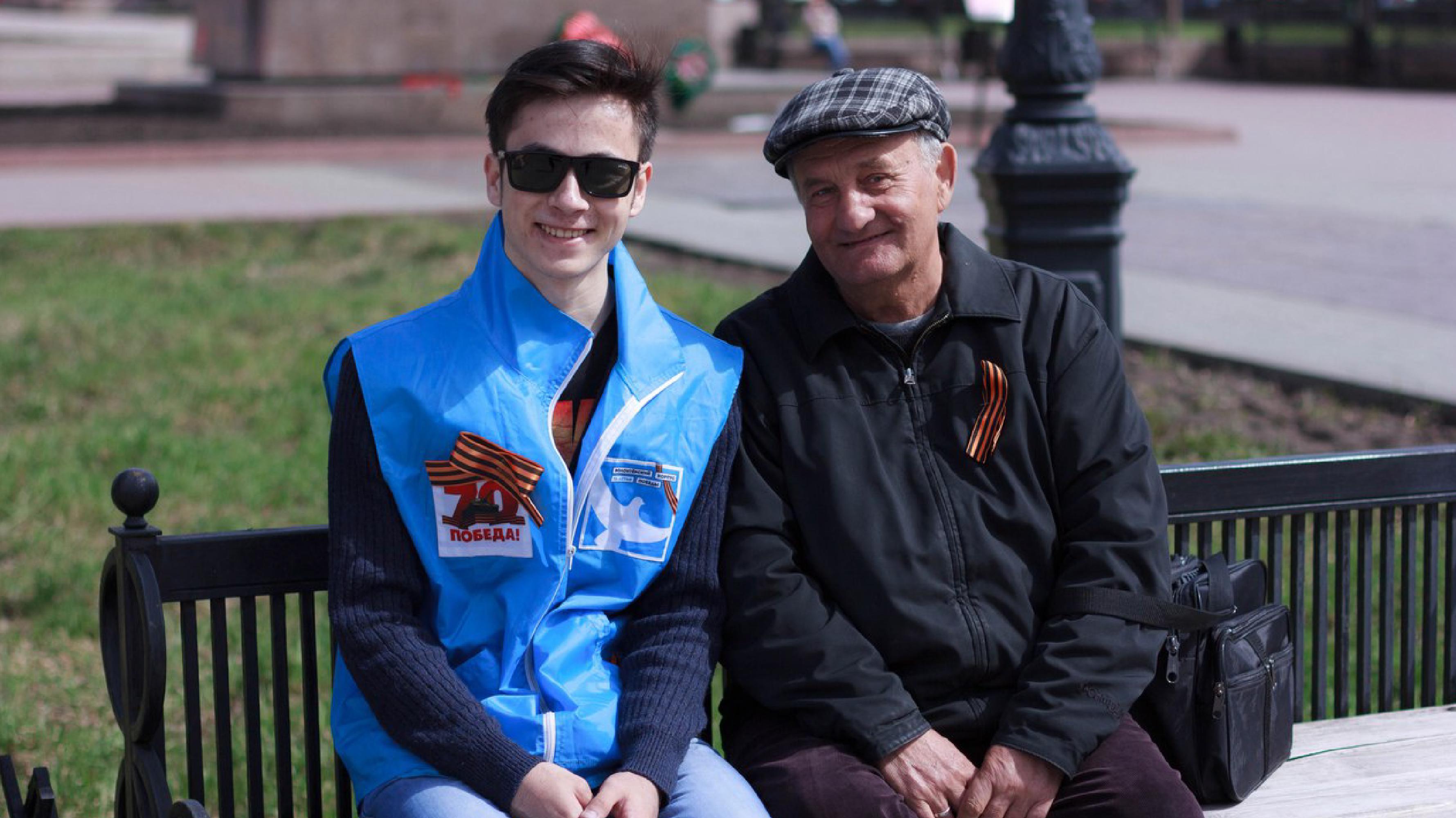 Массовая раздача лент жителям Челябинска пройдет  на Кировке