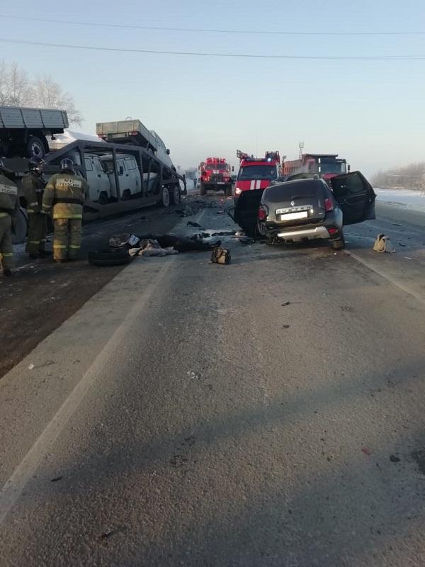 На 27-м км федеральной автодороги Р-254 «Иртыш»  произошло дорожно-транспортное происшествие